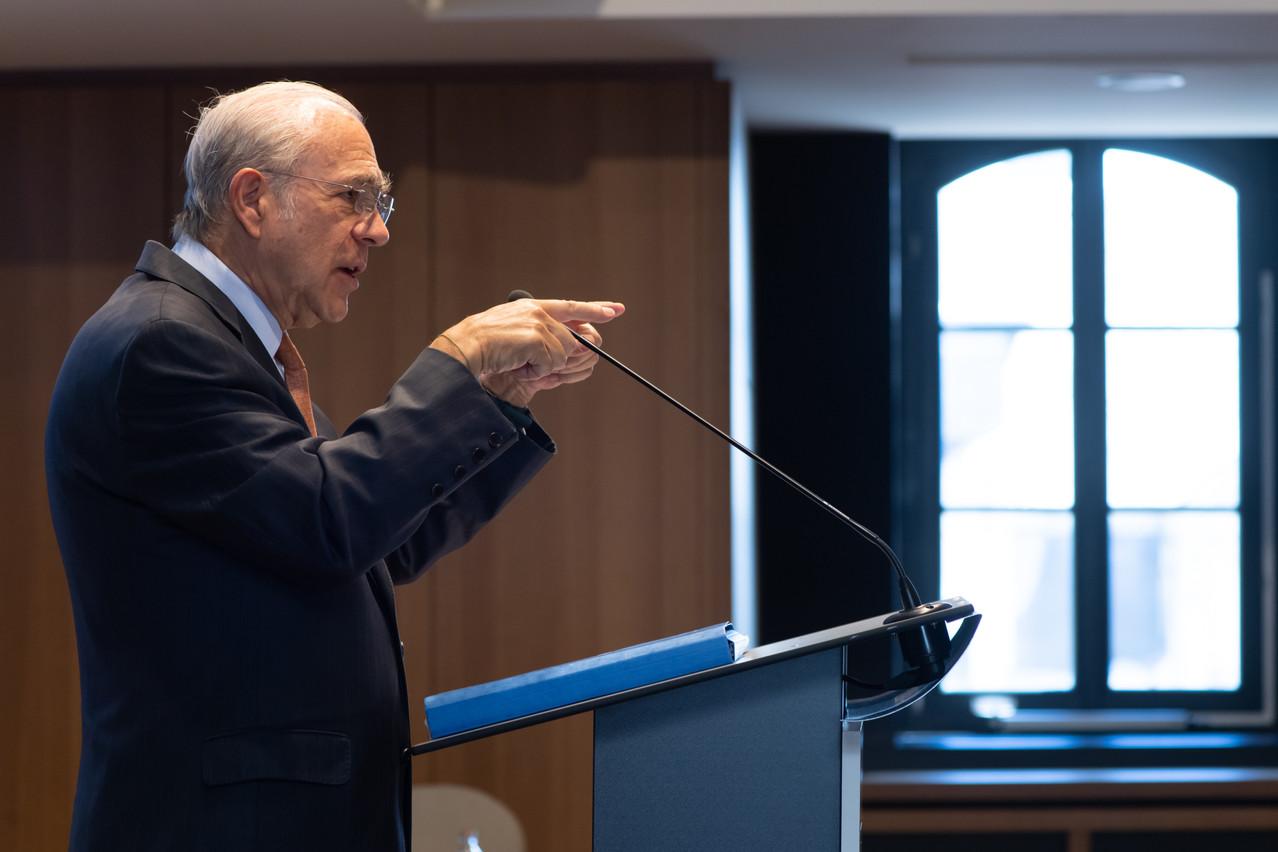 Angel Gurria veut éviter que des pays jouent en solitaire sur le dossier de la taxation des multinationales du numérique. (Photo: Nader Ghavami/archives)
