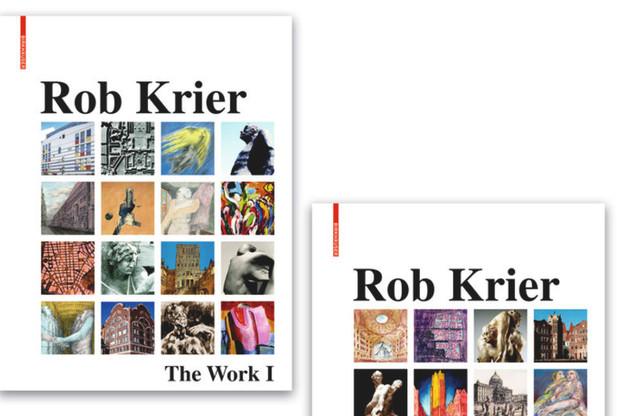 La maison d'édition Birkhäuser vient de sortir deux volumes regroupant l'œuvre prolifique de Rob Krier. (Photo: Birkhäuser)