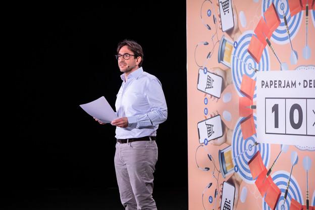 Patrick Ittah: «Nous sommes noyés d'informations: nous allons avant tout rechercher l'information pertinente, adaptée à notre environnement professionnel, notamment une sorte de 'veille technologique et business' des besoins futurs des entreprises luxembourgeoises.» (Photo: Julian Pierrot / Maison Moderne)