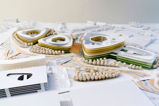 Précurseur – Présenté comme une perle d'innovation, le Südspidol a été conçu pour pouvoir accueillir d'éventuelles extensions sans retoucher au bâti. (Visuel: Chem)