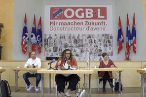 Le comité national s'est tenu exceptionnellement à Soleuvre afin de respecter l'obligation de distanciation physique entre les membres. (Capture d'écran YouTube)