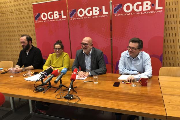 AndréRoeltgen s'apprête à céder la présidence de l'OGBL à NoraBack, mais reste bel et bien le patron jusqu'au 6 décembre. (Photo: Maison moderne)