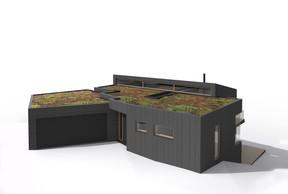 Olaf Recht a récemment dessiné sa première maison, en collaboration avec Axial Architekten. ((Illustration: Olaf Recht))