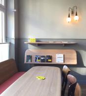 Chez Binsfeld, le «Café» a été dessiné par Olaf Recht. ((Photo: Olaf Recht))