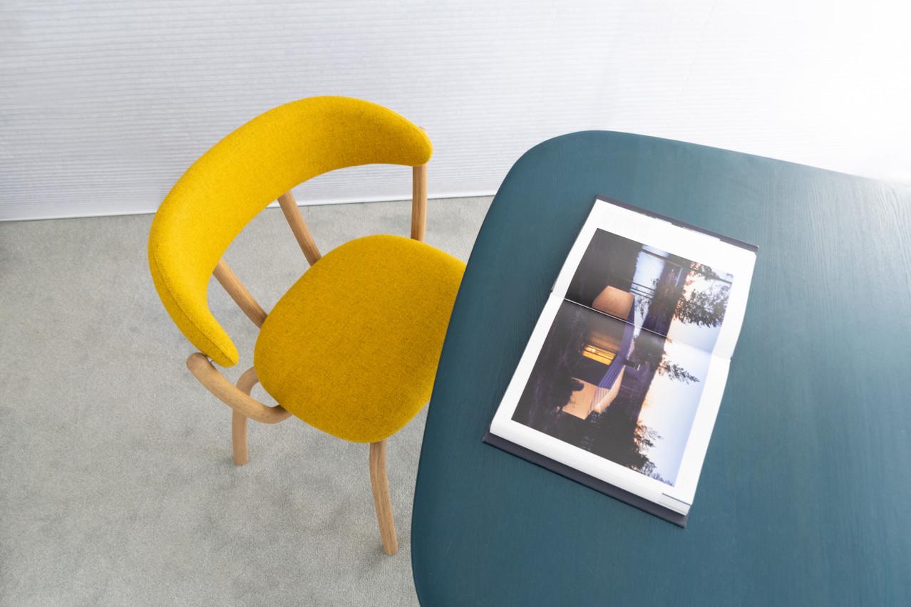 La Pebble Lounge Chair a été développée et produite au Luxembourg. (Photo: Olaf Recht)