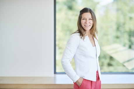Olga Miler doit aider KBL epb à se démarquer grâce à une stratégie marketing innovante. (Photo: KBL epb)