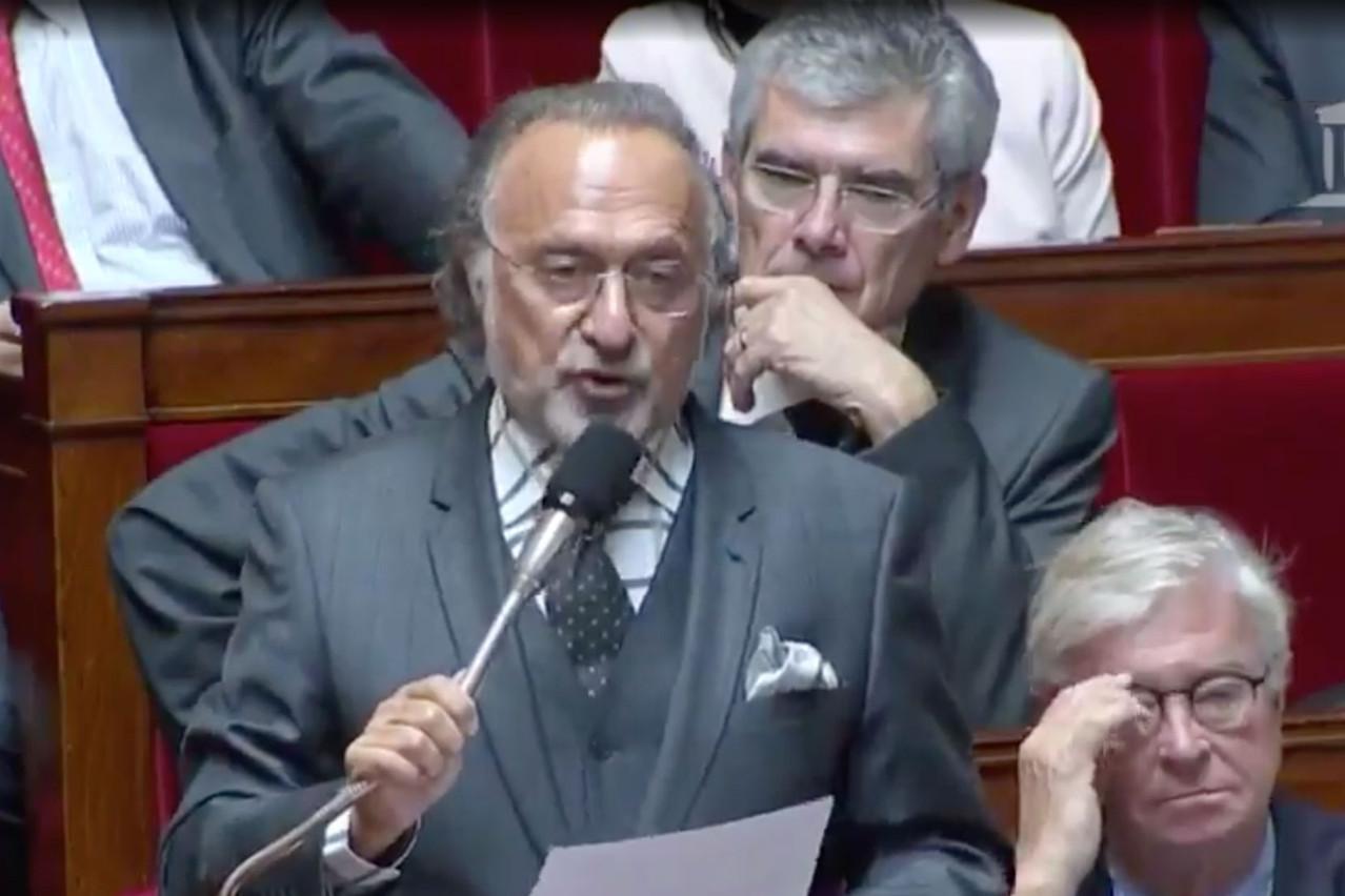 Olivier Dassaultétait le président du comité de surveillance du groupe familial. (Photo: Capture d'écran)