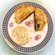 Tourte individuelle de champignon portobello farci et aligot de panais: ça marche! ((Photo: Maison Moderne))
