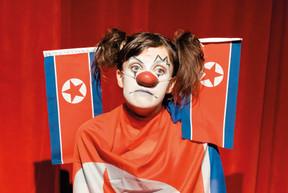 Des clowns qui reviennent de Corée du Nord... C'est l'argument d'Olivier Lopez & La Cité, le 24/10 au Kinneksbond. ((Photo: Alban Van Wassenhove))