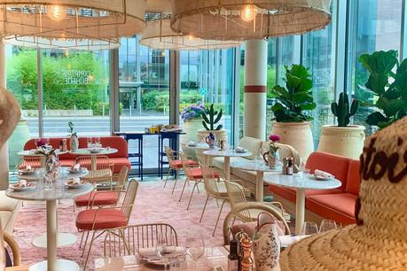 Art déco tropical aux accents d'hacienda et mobilier soigneusement dépareillé: le décor du nouveau Comptoir Bohème est très réussi et clairement convivial… (Photo: Maison Moderne)