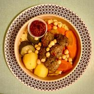 Le couscous kefta/semoule d'orge du restaurant Dune. ((Photo: Maison Moderne))