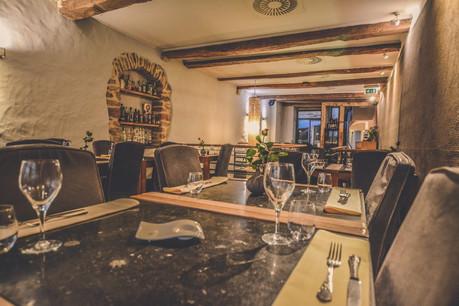 Les savoureux plats italiens de l'Essenza sont servis dans un cadre historique et chaleureux. (Photo: Ristorante Essenza)