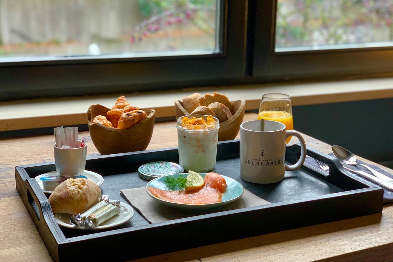 Au réveil, le petit-déjeuner à la carte permet de conclure l'expérience«Eat & Sleep» comme il se doit et de débuter une nouvelle journée du bon pied! (Photo: Maison Moderne)