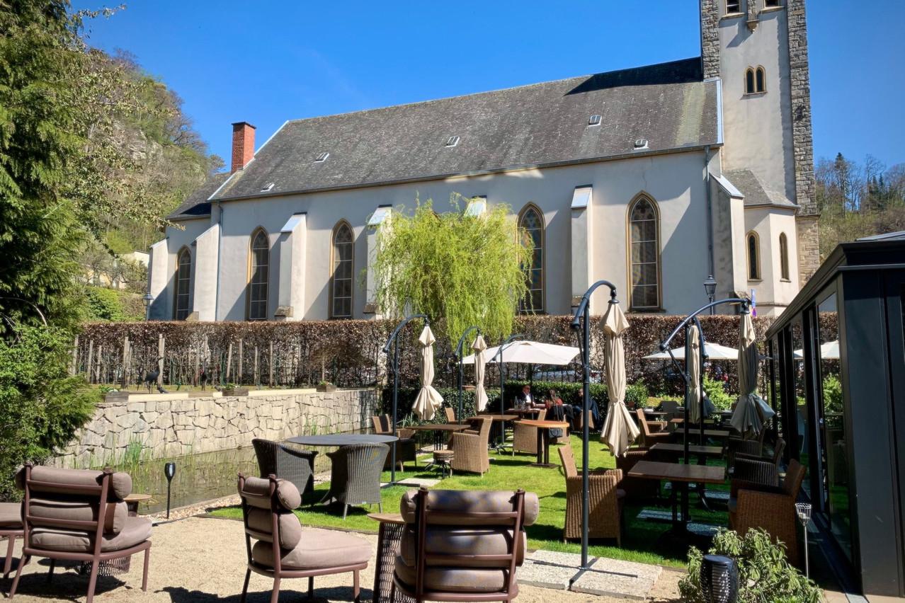 Par beau temps, la terrasse des Jardins d'Anaïs, avec ses belles vues et son calme, offre un écrin de détente gastronomique unique au Luxembourg. (Photo: Maison Moderne)
