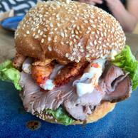 Le «Lobster Lover Burger» terre-mer du Homard Bleu. (Maison Moderne)