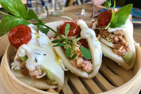 Le bao au homard, un des atouts gourmands du Strogoff et de son nouveau concept Homard Bleu… (Photo: Maison Moderne)