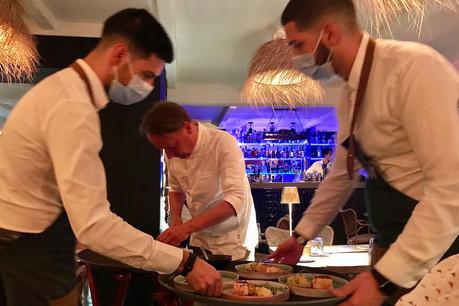 Au Kava, qu'il vient de reprendre, le chef Jan Schneidewind semble s'amuser avec les saveurs autant qu'avec sa clientèle. (Photo: Maison Moderne)