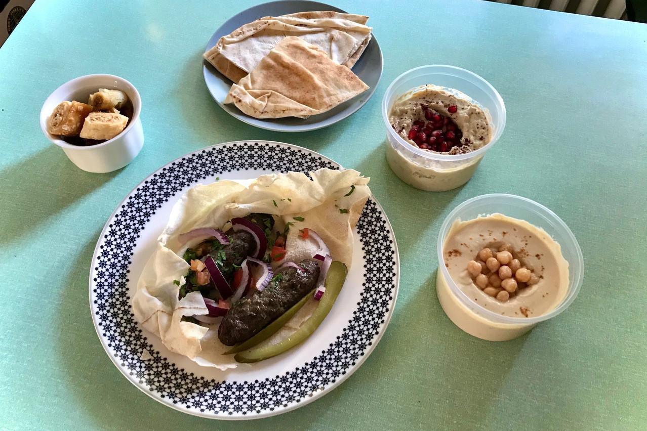 Kitchen Leb est un restaurant en ligne, uniquement en take-away et livraison, qui permet de découvrir les recettes de famille de Christopher Rahme... (Photo: Maison Moderne)