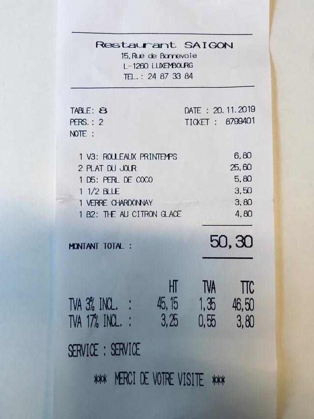 Little Saigon: un déjeuner bon et bon marché pour Luxembourg! (Photo: Maison Moderne)