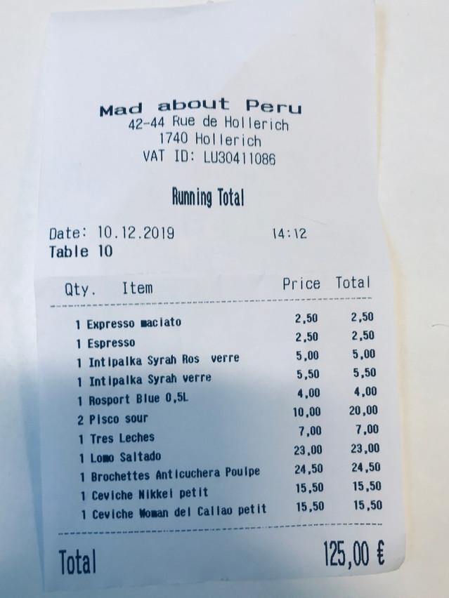 De bons plats aux prix justes, mais il manque une formule déjeuner... Maison Moderne