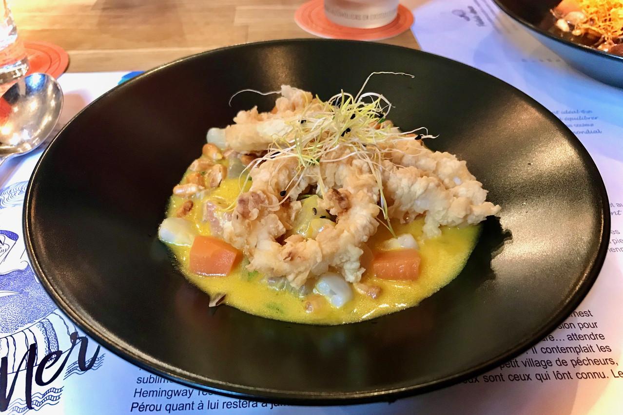 Bar, calamars frits et sauce aji amarillo : le ceviche« Woman del Callao » envoie du lourd! Maison Moderne