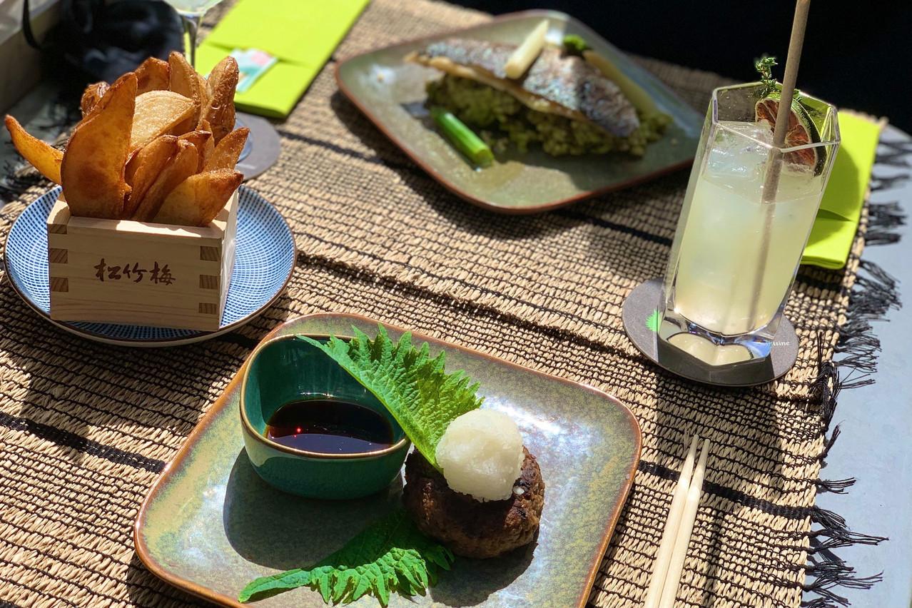De la bonne viande, du bon poisson, des saveurs nippones et une mayonnaise truffe/wasabi à tomber: la nouvelle carte du Go Ten ne manque pas d'atouts séduction! (Photo: Maison Moderne)