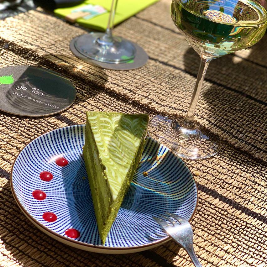 Le dessert du jour est inclus d'office dans la nouvelle formule lunch du Go Ten. Maison Moderne