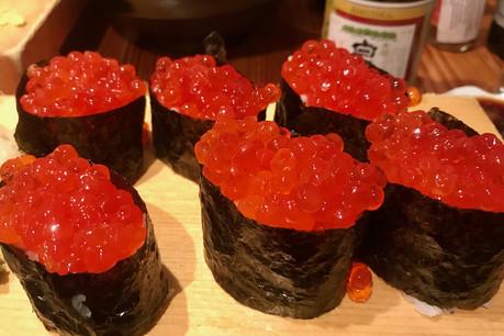 Les Ikura Makis sont toujours au menu du Yamayu Santatsu, comme la quasi-totalité de la carte. (Photo: Maison Moderne)