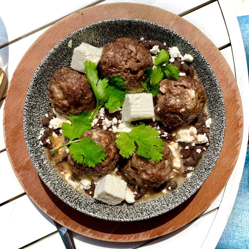 Nouveauté canaille au menu du Paname: les«funky meatballs». (Photo: Maison Moderne)