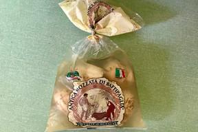 La mozzarella version fumée de la Caseificio La Fattoria. (Maison Moderne)