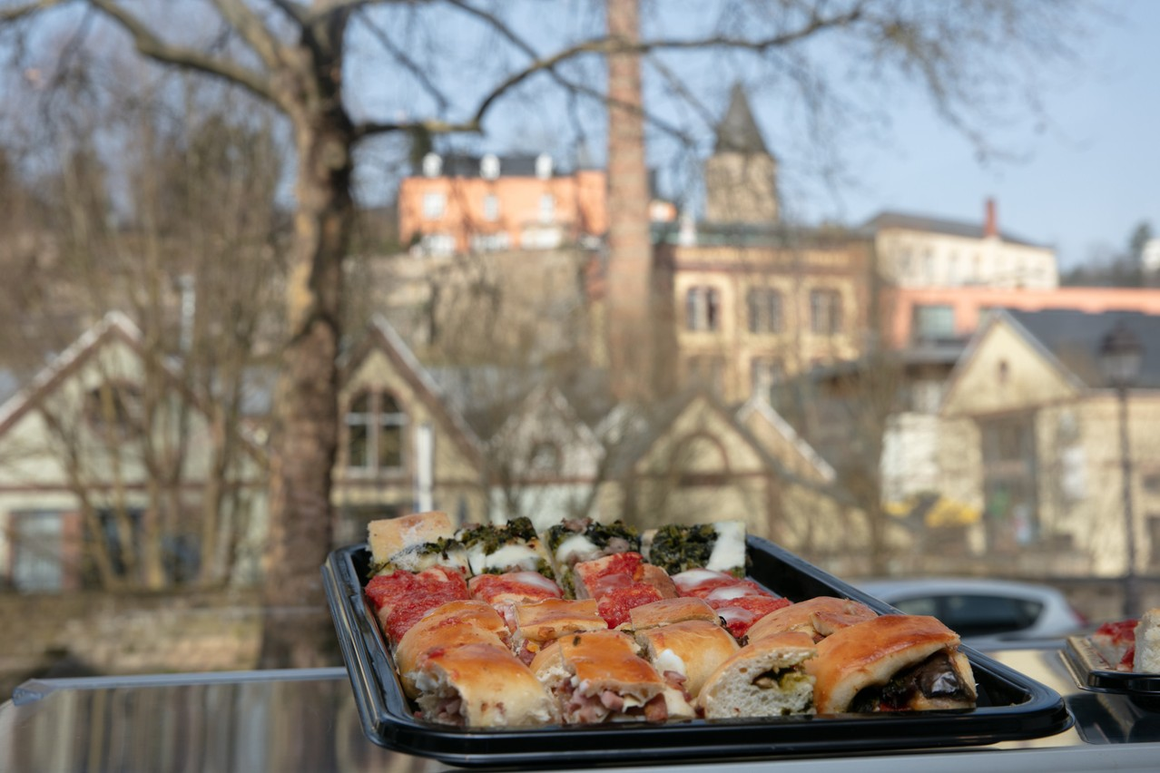 À Clausen, le nom de Notaro(berto) est synonyme de gastronomie italienne depuis près de 30 ans. (Photo: Romain Gamba / Maison Moderne)