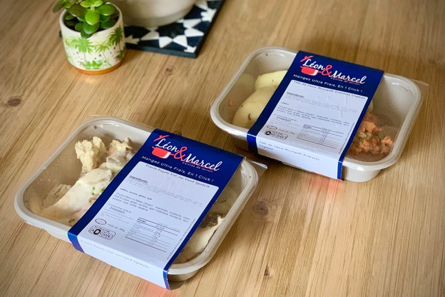 Pour rebondir sur la nouvelle dynamique du«bien-manger chez soi», le traiteur Code Cuisine propose depuis l'automne dernier des plats préparés bons et bien faits dans la gamme Léon & Marcel. (Photo: Maison Moderne)