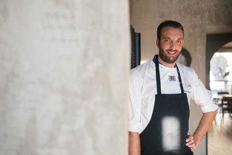 Le chef Quentin Debailleux est aux commandes du Restaurant Pèitry. (Photo: Sebastien Goossens |SG9)