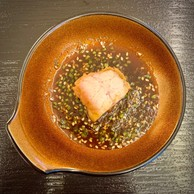 Le tempura de cœur de ris de veau et sa sauce yakiniku. (Maison Moderne)
