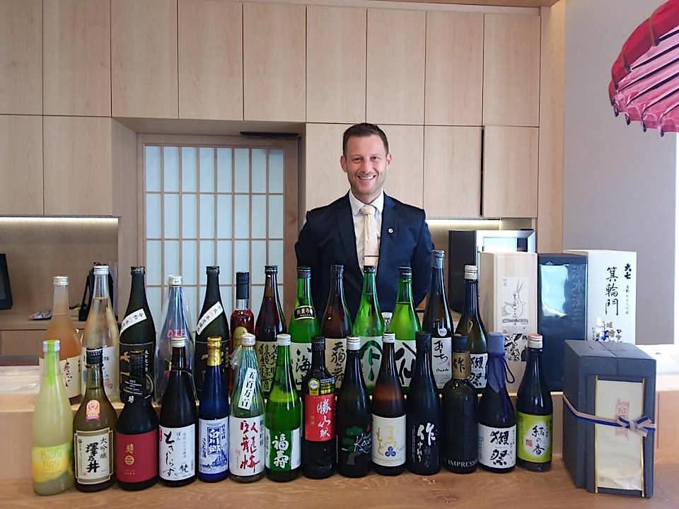 Envie d'un accord mets-sakés pour un dîner d'exception chez Ryôdô? Aucun problème avec le sommelier maison, Olivier Chocq. DR