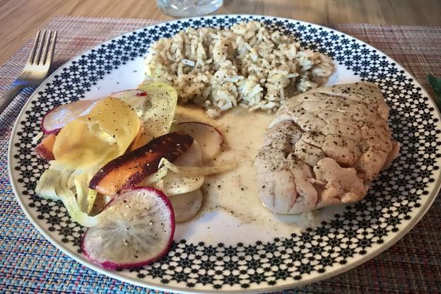 Un menu trois services gastronomique et un abat star par semaine, voilà le savoureux menu du week-end au Lion d'Or! (Photo: Maison Moderne)