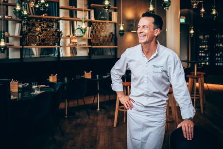 Le chef Morris Clip s'éclate au Tempo. (Photo : Maison Moderne)