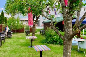 La terrasse calme et arborée de Yabani (Maison Moderne)