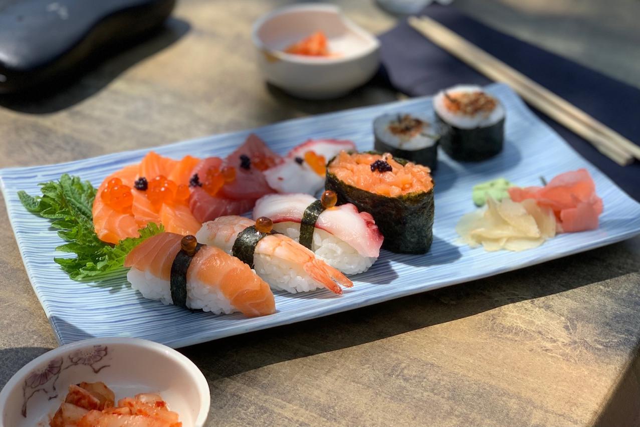 Le sushi mix de Yabani Maison Moderne