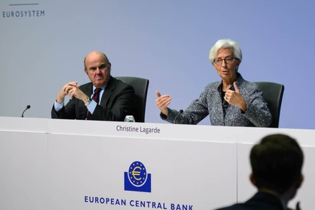 La BCE va débloquer une enveloppe supplémentaire de 120 milliards d'euros consacrée aux rachats de dettes («quantitative easing», QE) pour les neuf prochains mois. (Photo: BCE)