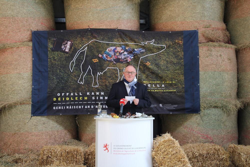 Romain Schneider, ministre de l'Agriculture, de la Viticulture et du Développement rural, a (re)présenté la campagne.  (Photo: MA)