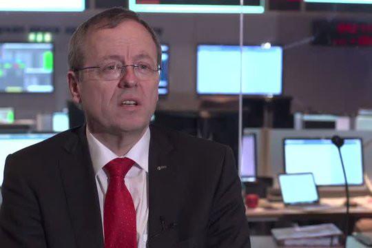 Le directeur général de l'Agence spatiale européenne, Johann-Dietrich Wörner ne déteste pas faire bouger les lignes. L'espace implique de nouvelles responsabilités, collectives, a-t-il insisté. (Photo: ESA)