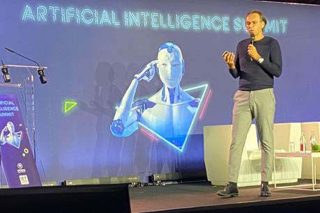 Le Covid-19 a bouleversé l'ordre des priorités, notamment celui des projets autour de l'intelligence artificielle, analyse Candi Carrera, ici à l'ICT Spring. (Photo: Maison Moderne/archives)