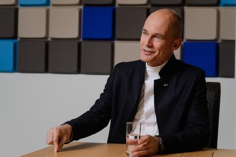 Le Suisse BertrandPiccard veut faire entendre au monde politique que des solutions technologiques existent pour sauver la planète. (Photo: Nader Ghavami)