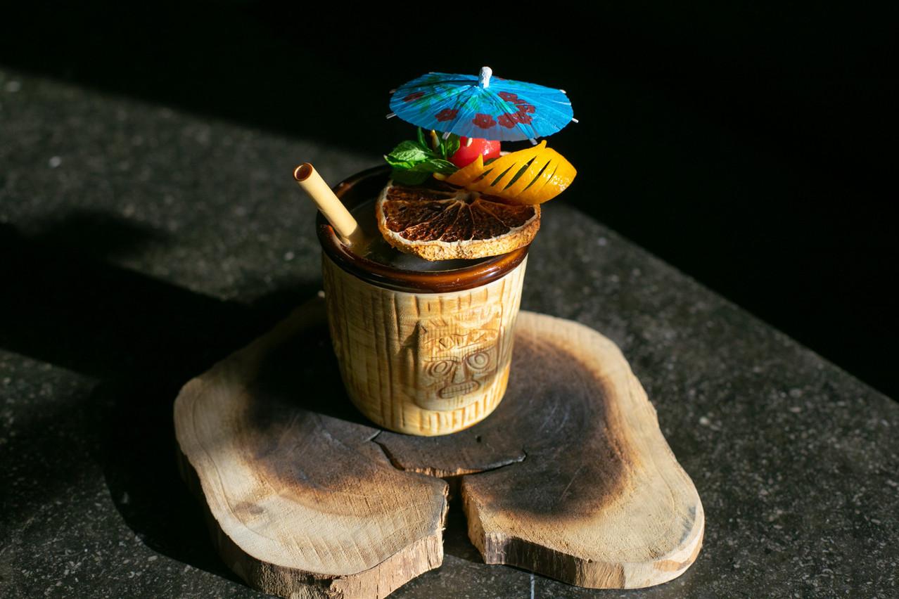Ombrelle obligatoire pour le Nasty Filoo du Nasty Bar à Dudelange: les cocktails tiki invitent le soleil… (Photo: Matic Zorman/Maison Moderne)