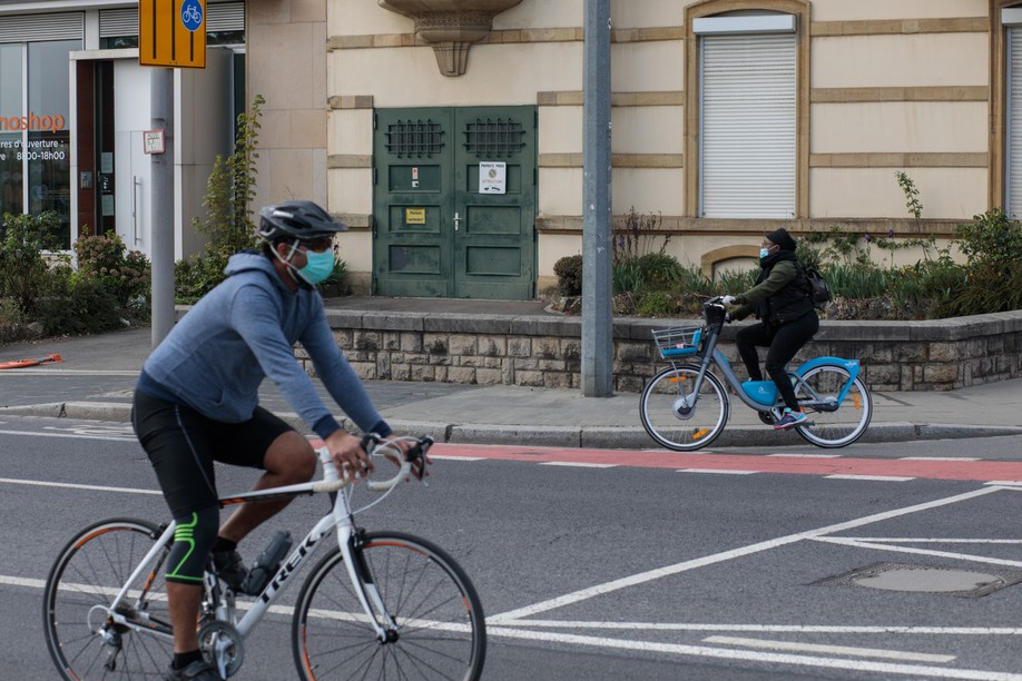 The map will collect information on potholes, missing cycling paths and other problems Photo: Matic Zorman