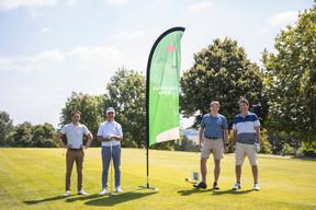 Joffrey Nguyen Dinh (Proximus), Paulo Madureira (New Immo), Maxim Straus (Board Belgium) et Olivier Beaujean (Board Belgium) ((Photo: Simon Verjus/Maison Moderne))