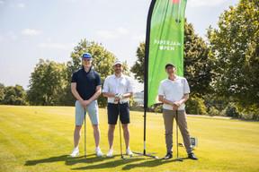 Jean-Baptiste Leray (Deloitte), Denis Allena (Qualion) et Eric Anselin (Ile aux Clowns) ((Photo: Simon Verjus/Maison Moderne))