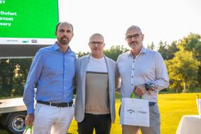 Jean-Thierry Duffort (GWS Advisory) à gauche et Olivier Sanzot (GWS advisory) à droite ((Photo: Simon Verjus/Maison Moderne))