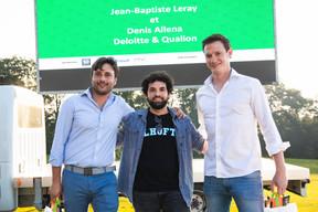 Denis Allena (Qualion) à gauche et Jean-Baptiste Leray (Deloitte) à droite ((Photo: Simon Verjus/Maison Moderne))